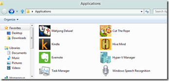 Access Apps Through Windows Explorer in Windows 8 5