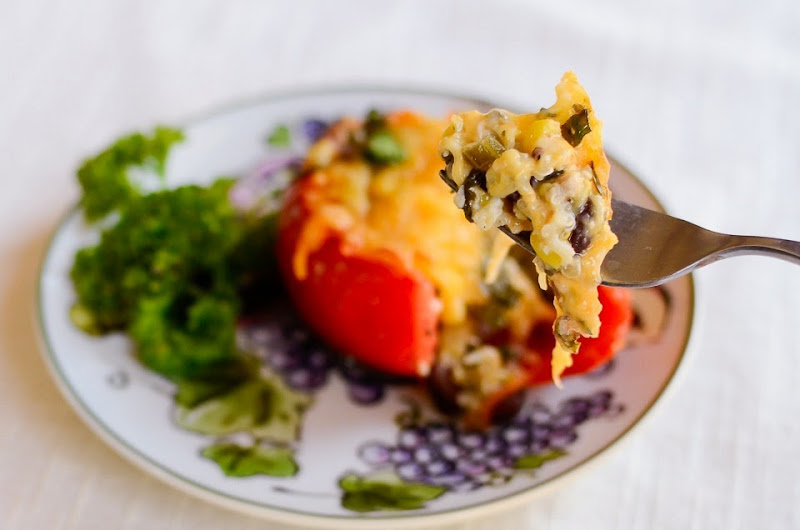 quinoa stuffed tomatoes-14252