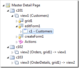 Category c1 in editForm1 of Customers controller.