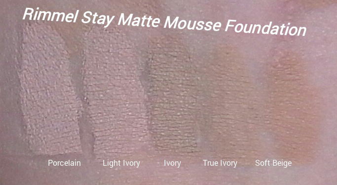 how to apply rimmel stay matte foundation