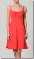 Cyell Orange Jersey Dress