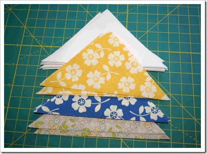 ribbon star fabric