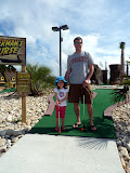 First time at mini-golf! (July)