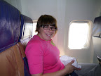 On the plane. Southwest flight 333 to SEA.
