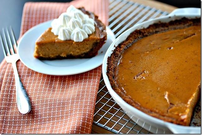 Pumpkin Pie with Biscoff Crust4