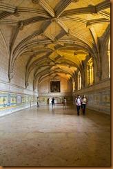 Lisbon, monastery refectory