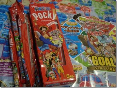 Pocky X One Piece