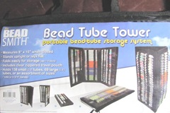bead tube tower for seed beads