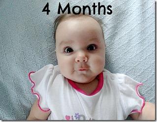 4 Months face