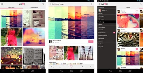 We Heart It para Android