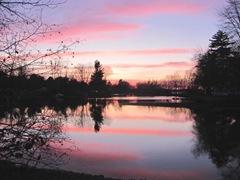 11.2011 Maine Raymond sunset2