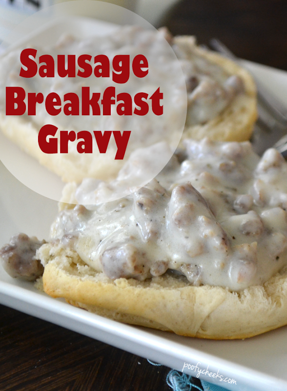 Easy Breakfast Sausage Gravy Recipe