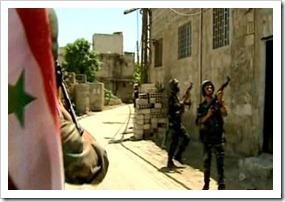 Siria, Governo toma control de Damasco