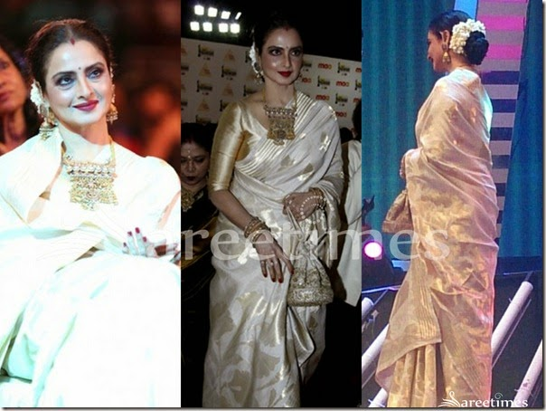Rekha_Off_White_Traditional_Silk_Sari