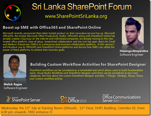 SharePoint Forum - 13th July