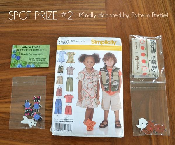 Spot prize 2