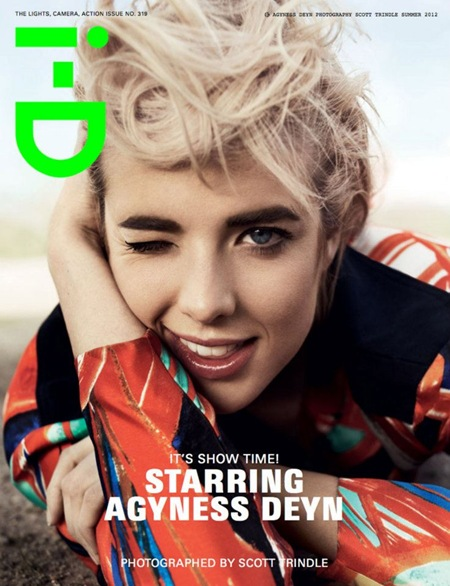 Agyness Deyn i-D Summer 2012