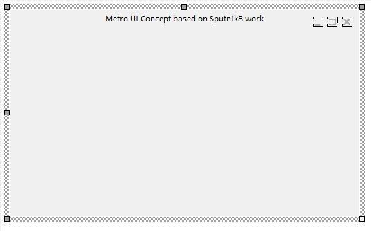 MetroGUISysmenusbutns