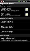 Screenshot of Brightness Motion Lite