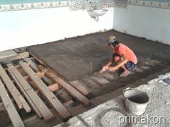 pekerjaan dak keraton diatas plafon