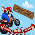 Mario Trail ,Get over all the obstacles on a level in the fastest time possible, There are 20 Levels