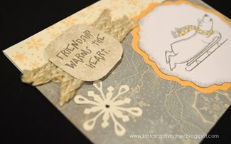 Christmas Card Day 2103_close up_polar bear card DSC_0490