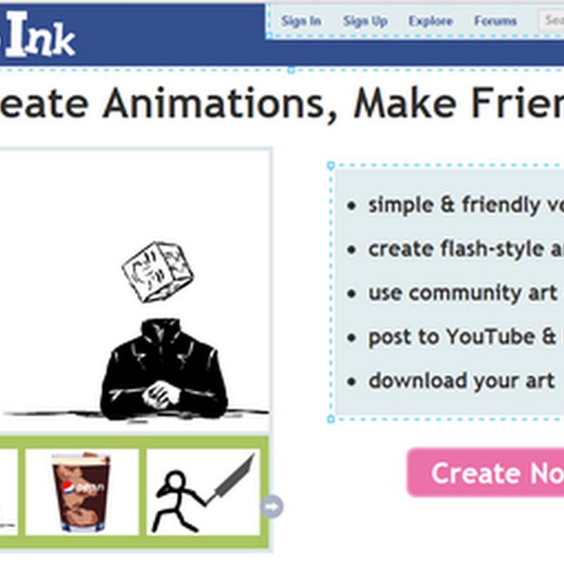 สร้างการ์ตูน animation เป็นไฟล์แฟลชอวดบน Youtube และ Facebook โดยไม่ต้องลงโปรแกรม