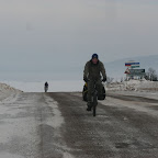 На вершине подъёма перед станицей Архангельское