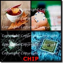 CHIP- 4 Pics 1 Word Answers 3 Letters