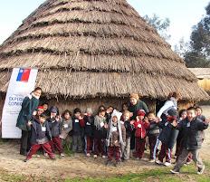 Celebración del We Tripantu en el campus Antumapu de la Universidad de Chile