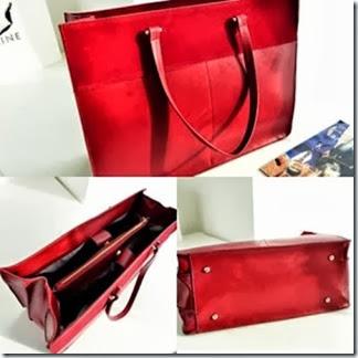 U0012 Red (200.000) - PU Leather, 41 x 31 x 17