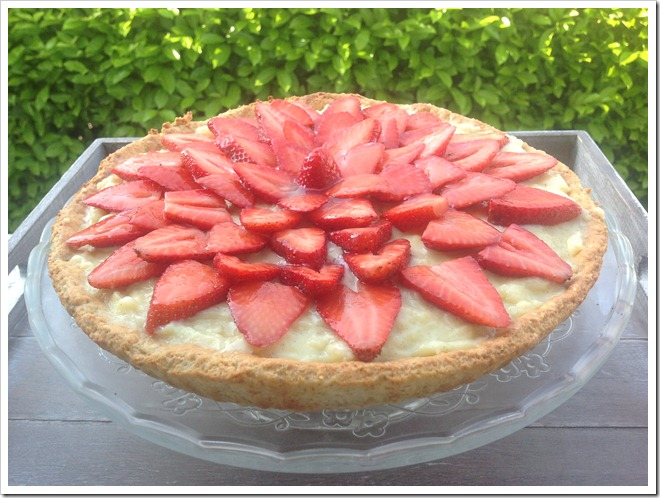 crostata alle fragolel light