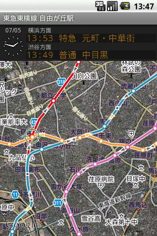 鉄道マップ 関東 私鉄 3 東急・横浜高速
