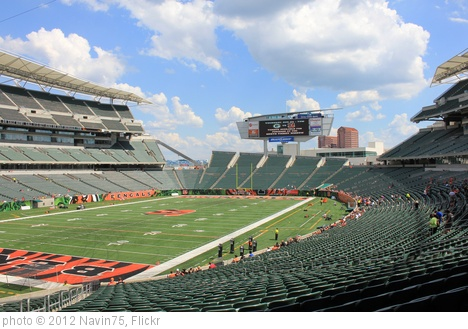 'Paul Brown Stadium' photo (c) 2012, Navin75 - license: http://creativecommons.org/licenses/by-sa/2.0/