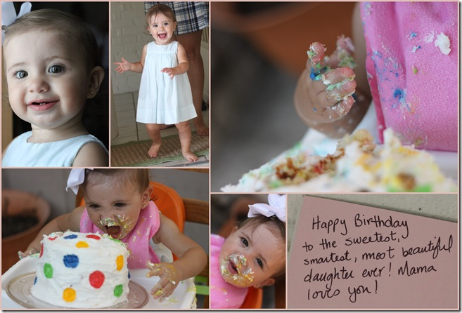 Brooklyn's 1st Birthday