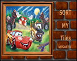 Sort My Tiles Mcqueen games