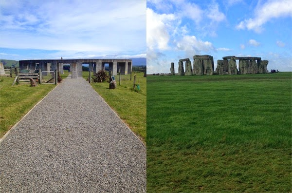 Compare contrast stonehenges