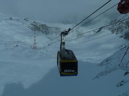 Vacanta Kaprun - Zell am See:. la 3000 metri