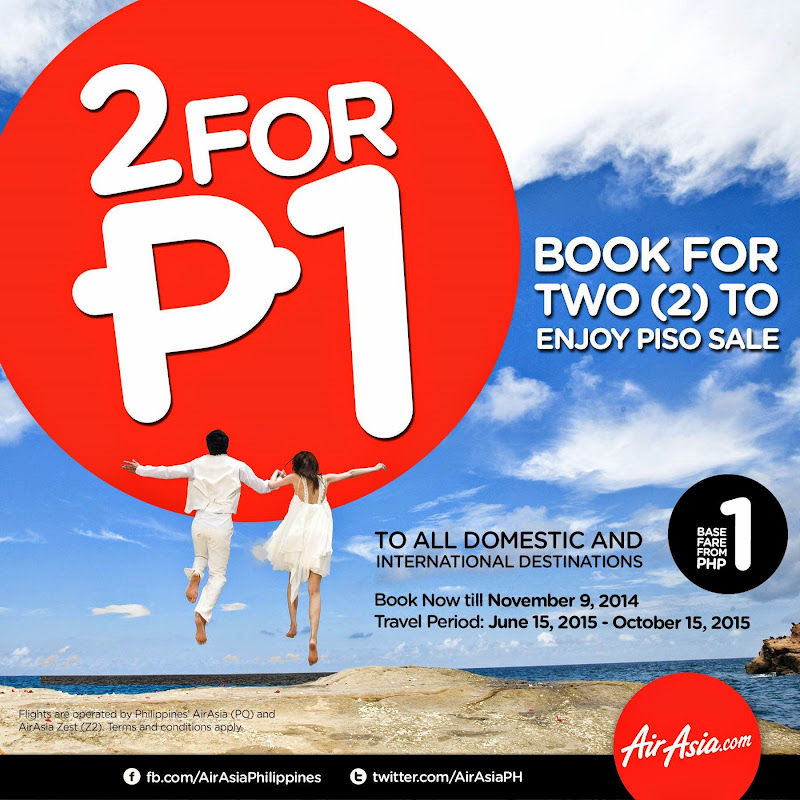 Air Asia Rockin Piso Sale 2