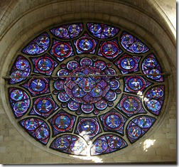 rose window blue
