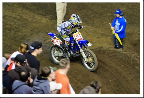 Derek Sims at Motorama Arenacross