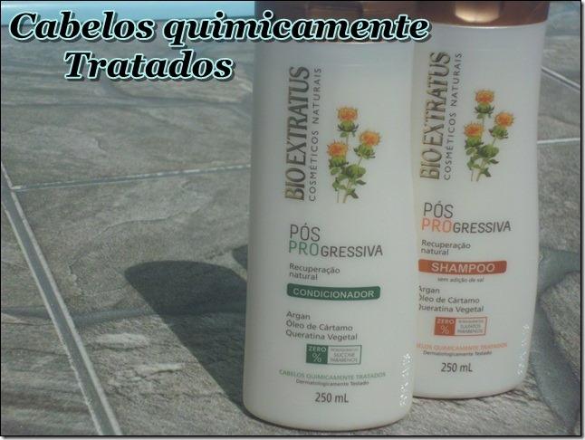Shampoo e condicionador Pós Progressiva Bio Extratus