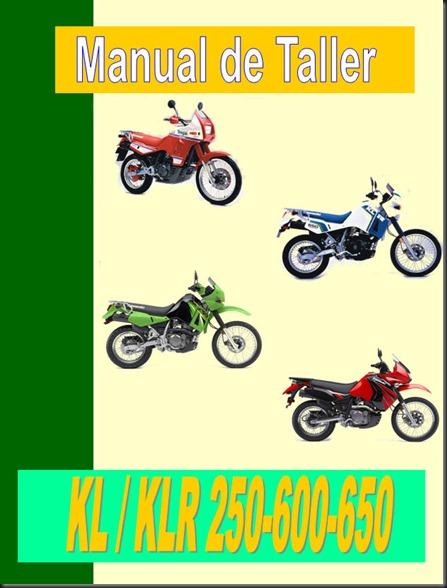 manual KLR 250 600 650