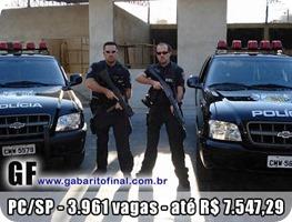 concursos - edital concurso Polícia Civil SP - PC-SP 2013 - 400x300
