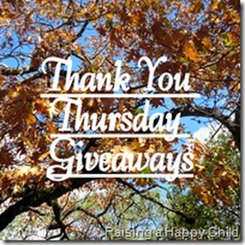 Thank You Thursday Giveaway #1
