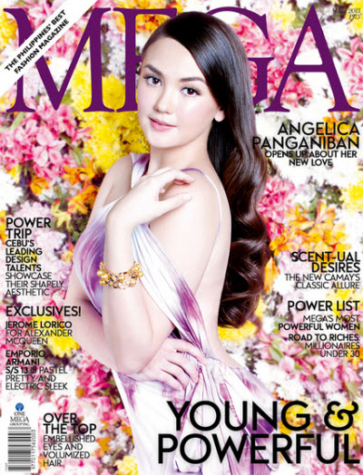 Angelica Panganiban covers Mega March 2013