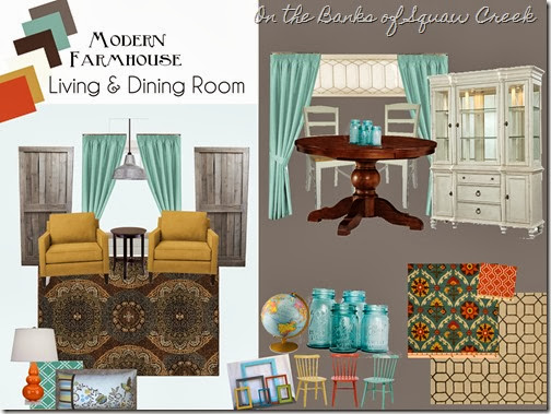 gray turquoise mood board
