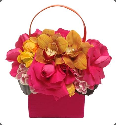 PurseArrangementPink_LowRes floral art