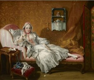 boucher lady in bed