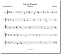 Adeste Fideles Flauta-1 1